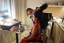Nirina zubir makeup by Jessiead