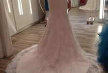 Illusion Back by Tiara Bridal