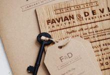 Wood Rustic & Fun - Favian & Devi by Pensée invitation & stationery