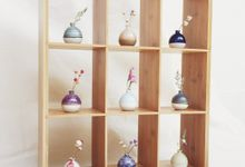 Handmade Mini Vase for Wedding door gift by Oh!eaf