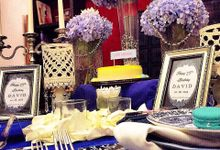 The royal blue by Valexis Table Design