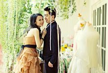 Prewedding Raycent & Lina by Noveo Alexander Professional Makeup Artist