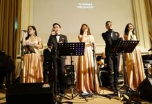 Andy & Katherine Grand Wedding by Nico Santoso Entertainment