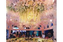 Wedding decoration at imperial ballroom pakuwon indah surabaya by Dawid Daud Decoration