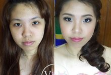 BEFORE & AFTER  part 2 by Veronicaong Makeup