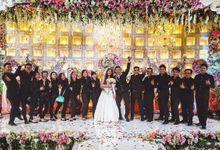 Wedding Party of Albert & Lynn by Dennys & Crew
