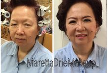 Party Makeup & Hairdo Book by Maretta_Drie Makeup Artist