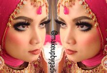 Fairuziana Akad Nikah by makeupbygadieza