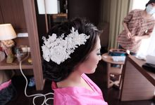 Febriyanto and Melliany by VIDI Airbrush Wedding make up Artist