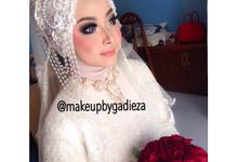 Farah ivana wedding day by makeupbygadieza