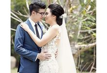 Smoke Gray for Reyner & Fenfiana Wedding by Cindy Tandiyah