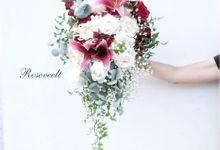Wedding Bouquet by Roseveelt Florist