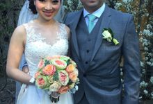 Wedding | Beatrice & David by Felicia Sarwono Makeup Art