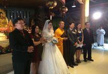 Jihiung Melli Wedding Day by Serenity wedding organizer