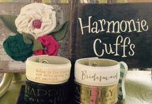 Wedding Cuffs collection by Harmonie Cuffs