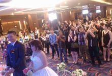 Anton Fira Wedding Day by Serenity wedding organizer
