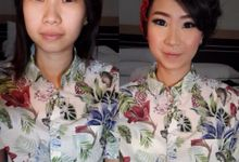 Freelance makeup n hairdo by Yolanda Makeup Artist