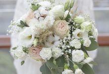 Mia and Reza Wedding by Royal Petals