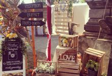 Rustic meets Balinese  style wedding by Ruschic Decor