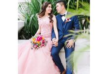 Erwin and Airin by Bloomwood Florist