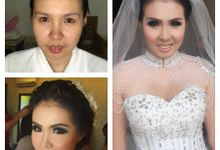 Wedding of Andhika and Mei by Vidi Daniel Makeup Artist managed by Andreas Zhu