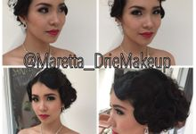 Makeup & Hairdo Book 1 by Maretta_Drie Makeup Artist