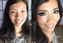 Bride Make up by @by.maybhie
