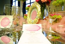 Feeling so pink by Valexis Table Design