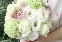 Bespoke Bridal Bouquet by Blooms Boutique