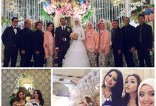 Sausan&Ibrahim by naura wedding organizer