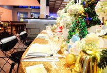 Gold christmas by Valexis Table Design