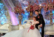 Tedy linda wedding day by Serenity wedding organizer