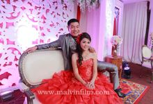 Engagement of feny & wendy by Malvin film