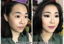 Party make up by Makeupbykarlina
