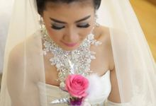 Wedding Day Budiman & Juliana by Sasa Carella Professional Makeup Artist
