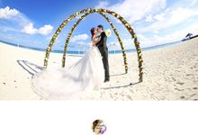 Beautiful Wedding ceremony in Maldives by Oceanlove Studio