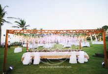 Christanto & Veranica wedding by Bali Yes Florist