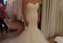 Convertible dress by Tiara Bridal
