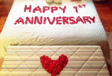 anniversary surprise by Valexis Table Design