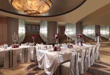 Wedding at The Grand Ballroom by The Fullerton Hotels