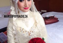 Juliska Akad Nikah by makeupbygadieza