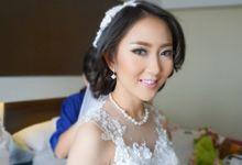 Vivi & Felix wedding by Vina.K Make Up Artist