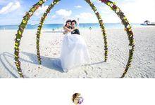 Wedding ceremony in Maldives by Oceanlove Studio