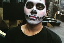 Makeup Hallowen 2015 by Sandra MUA The Bright Salon and Bridal