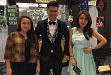Miracle wedding event baywalk mall pluit by Boaz Gunawan MC - Perfetto organizer