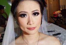 Wedding makeup by Johanna Lin
