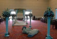 The wedding of Ferdy & Meylia by Evlin Decoration