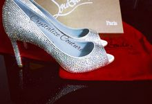 Strassed Louboutins by Crystalize Couture