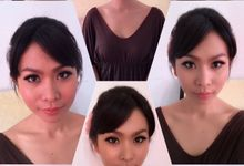 Wedding makeup by Zevinnia Makeup Artist