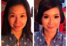 Before After Makeup by Ani Lee Makeup Artist